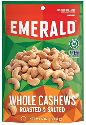 Emerald Whole Cashews Roasted Salted