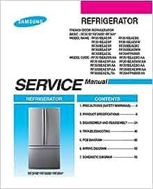 RF261B RF260B RF26H  FRENCH DOOR REFRIGERATOR SERVICE