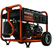 Generac 6515, 6500 Running Watts/8000 Starting Watts, Gas Powered Portable Generator