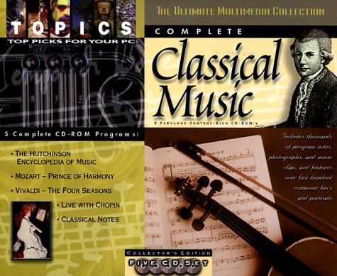 Complete Classical Music( 5 CD - ROM Set)