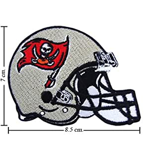 Tampa Bay Buccaneers Helmet Logo Embroidered Iron on Patches