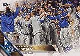 Kansas City Royals 2016 Topps MLB Baseball Regular Issue Complete Mint 30 Card Team Set with Alex Gordon Eric Hosmer World Series Highlights Plus