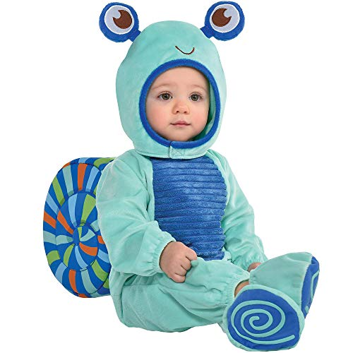 Party City Snail Crawler Halloween Costume for Babies, 12-24 Months, Includes Accessories