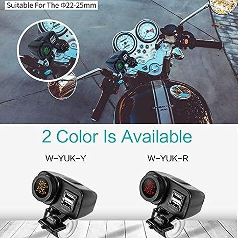 Amazon.com: Davitu New Style 12V To 5V Motorcycle USB ...
