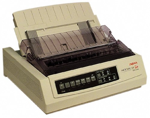 Oki MICROLINE 320 Turbo Mono Dot Matrix Printer (62411601) by OKI