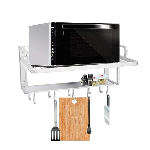 Estante de horno para microondas, de aluminio con doble capa ...