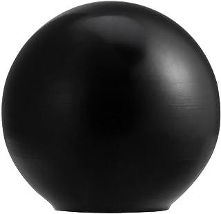 Manopola a sfera, Manopola a sfera in plastica con impugnatura a sfera tonda universale, colore nero/rosso, 10 pezzi(AM8*25-Black AM8*25)