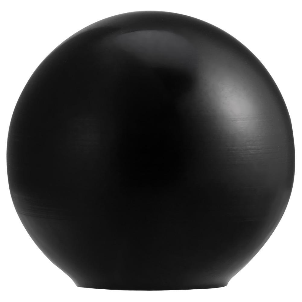 10pcs Machine Outil en Forme de Boule, Walfront Universelle Tour Machine en Plastique Rond Boule Bouton Poigné e Noir/Rouge AM5x16, AM6 * 20, AM6 * 25, AM8 * 25(Black AM5x16)