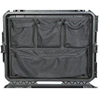 New Lid organizer to Fit the Pelican 1637 Air Case. Comes with with double sided adhesive.
