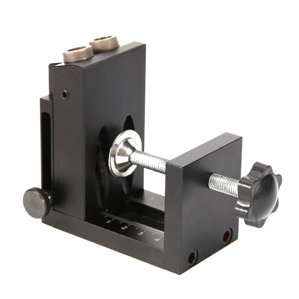 Wabaodan Woodworking Oblique Hole Locator Hole Drilling Guide Kit Furniture Puncher Drilling Holes by Wabaodan (Image #2)