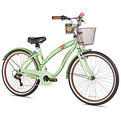 Margaritaville Coast Is Clear Women's Beach Cruiser Bike, ()