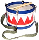 Schoenhut Multi-color Tunable Drum Patented Design with Realistic Sound and Style