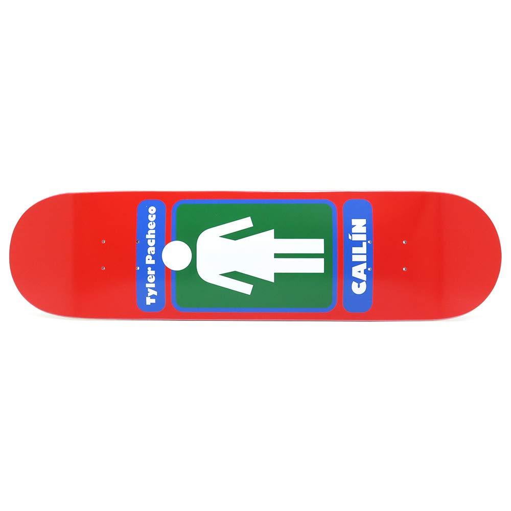 GIRL DECK ガール デッキ TYLER PACHECO 93TIL 19FA 8.0 スケートボード スケボー SKATEBOARD