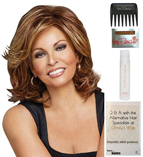 bundle-5-items-embrace-by-raquel-welch-heat-friendly-wig-15-page-christys-wigs-q-a-booklet-wig-shamp