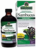 Nature's Answer Alcohol-Free Sambucus Black Elder Berry Extract, 8-Fluid Ounces