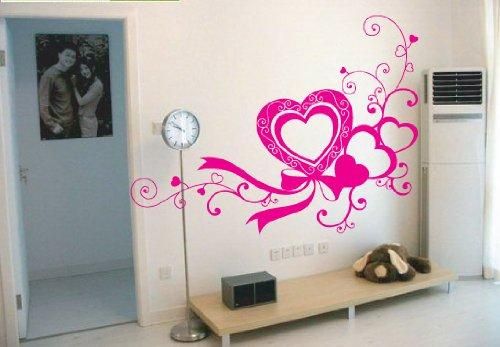 Dekorative Vinyl Aufkleber wall decor sticker - 20 Farben zu wahlen