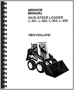 New Holland L455 Skid Steer Service Manual Amazon Co Uk