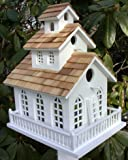 Home Bazaar Inc. HOMEHB2047 Chapel Bell Birdhouse (No Bracket)
