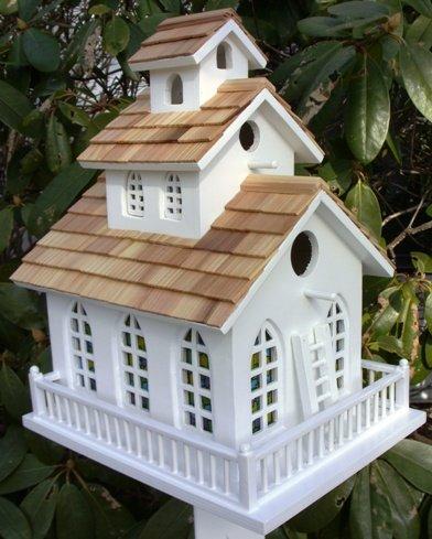 Home Bazaar Inc. HOMEHB2047 Chapel Bell Birdhouse (No Bracket) by Home Bazaar