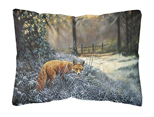 Caroline's Treasures Fox On The Hunt Fabric Decorative Pillow, 12