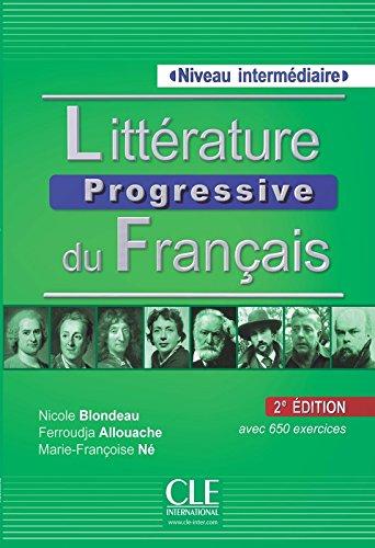 Litterature Progressive Du Francais 2eme Edition: Livre Intermediare with (French Edition)