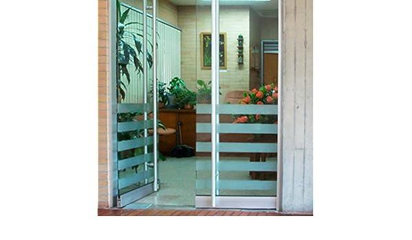 Vinilo acido arenado decorativo pegatina para escaparate, cristal, puerta: Amazon.es: Hogar