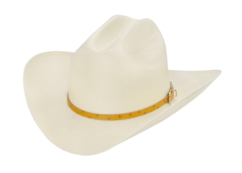 98715421e50db Larry Mahan 100X El Rey Straw Cowboy Hat at Amazon Men s Clothing store