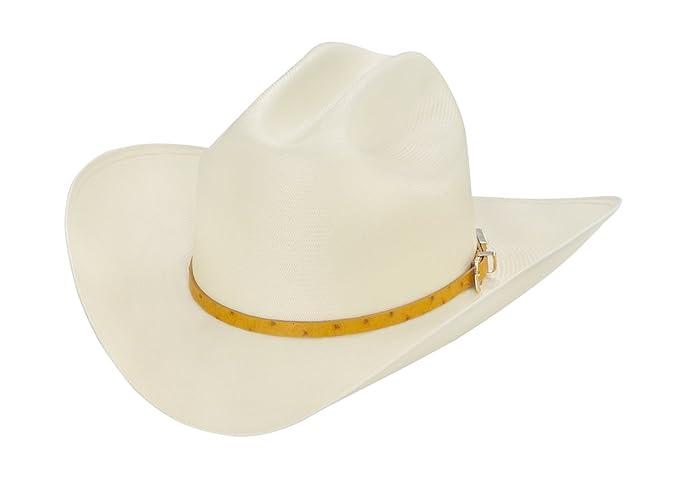 9c1399a0b3e13 Larry Mahan 100X El Rey Straw Cowboy Hat at Amazon Men s Clothing store