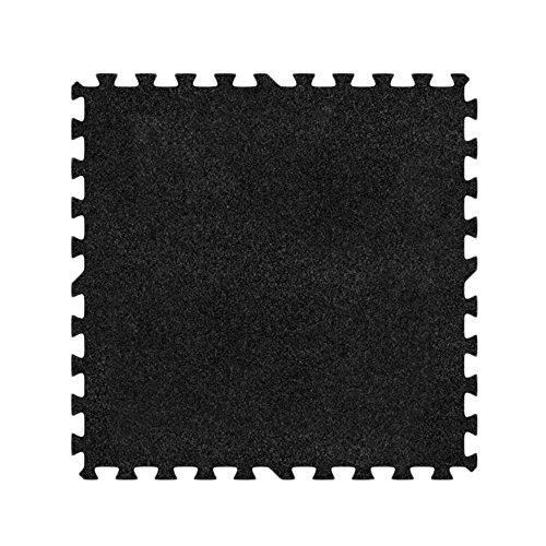 Alessco EVA Foam Rubber Interlocking Premium Soft Carpets 8' x 12' Set Charcoal