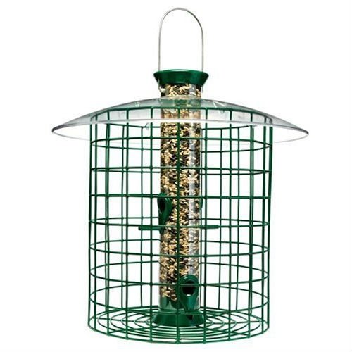 Swag Pads Wild Bird Feeder with Domed Cage in - Domed Cage Feeder