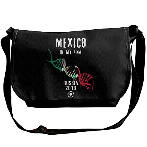 Mexico DNA Mexican Shirt Soccer Casual Adjustable Strap Shoulder Bag - Crossbody Sling Messenger Bags - Dna Small Sling