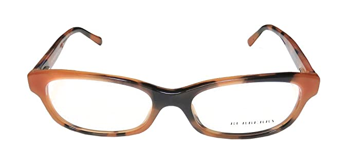 712ce6203be8 Eyeglasses Burberry BE 2202 3518 SPOTTED AMBER at Amazon Women s ...