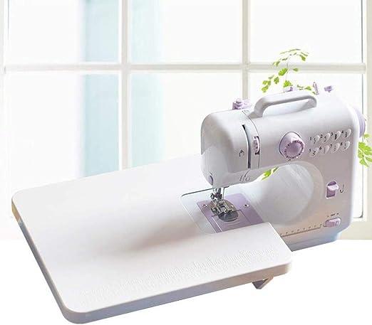 Máquina de coser de mano, mini máquina de coser eléctrica en miniatura multifunción para el hogar, para cortinas para principiantes, herramientas de costura de ropa manual-TABLA DE EXTENSIÓN: Amazon.es: Hogar