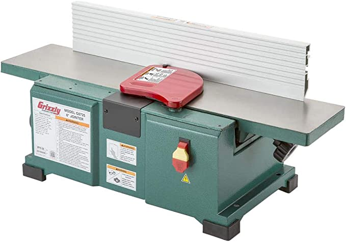 Best Benchtop Jointer: Grizzly G0725
