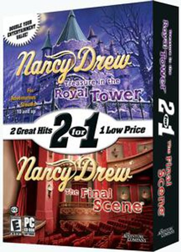 Nancy Drew: The Final Scene & Treasure In The Royal Tower - - In Shops Towers Castle