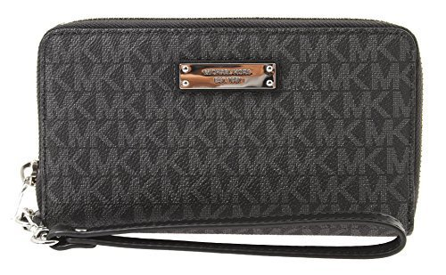 Michael Kors Jet Set Large Multifunction Phone Case - Vanilla