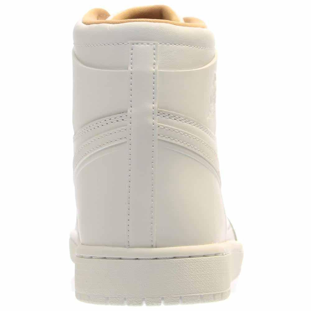 homme / femme de jordan air 1 rétro hommes - haut, blanc / Blanc  - hommes vachetta tan caractéristique hh13167 qualité stable à l'aise 666bea