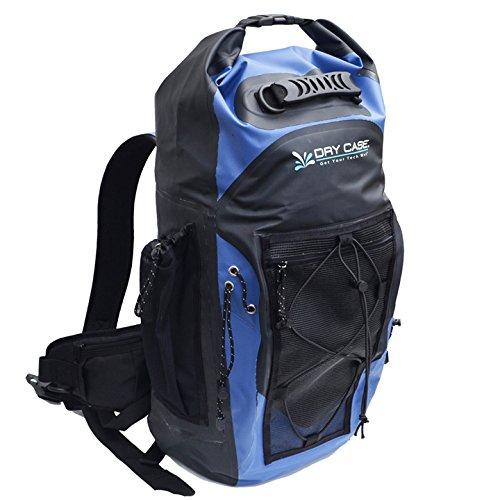 Dry CASE BP-35 Masonboro Waterproof Adventure Backpack - 35L, One Size, Blue/Black]()