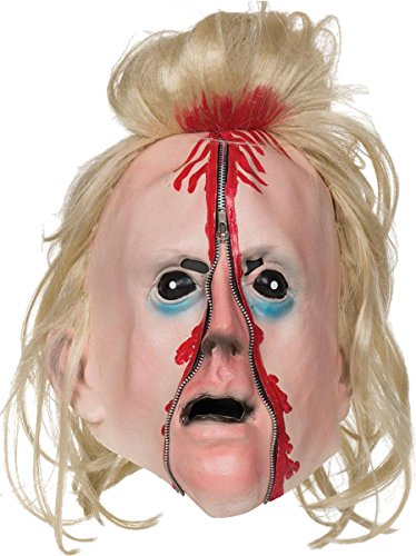 Bloody Zip Face Mask (Scary Halloween Zip Face)