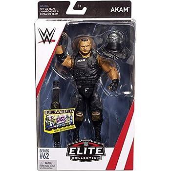 WWE THE AUTHORS OF PAIN AKAM REZAR RAW ELITE SERIES 62 WRESTLING MATTEL FIGURE