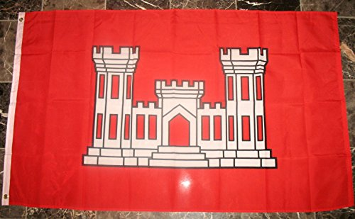 Army Corps of Engineers Flag 3'x5' US Military Banner