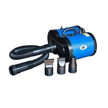 Secador De Mascotas Perro 2600w Doble Motor Calefacción Agua Soplo Máquina Cabello Bajo Ruido Para Dos Grupos Velocidad Ajustable Alto Poder (Color : B): ...