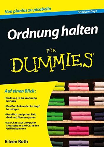 Ordnung Halten amazon com ordnung halten für dummies german edition ebook