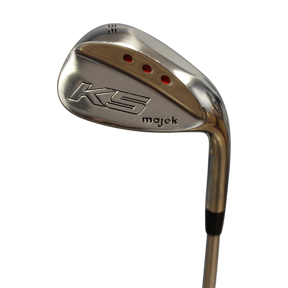 Majek Golf Men s Complete Wedge Set 52 Gap Wedge GW , 56 Sand Wedge SW , 60 Lob Wedge LW Right Handed Regular Flex Steel Shaft