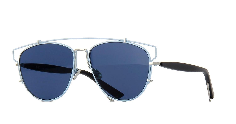 fc9eace33976 Amazon.com  Christian Dior TECHNOLOGIC PQX A9 Pale Blue Black Silver Blue  Sunglasses  Clothing