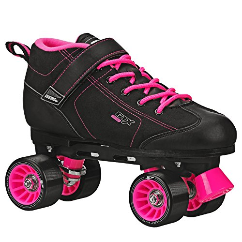 Pacer GTX 500 Roller Skates Black and Pink Men 5 Ladies -
