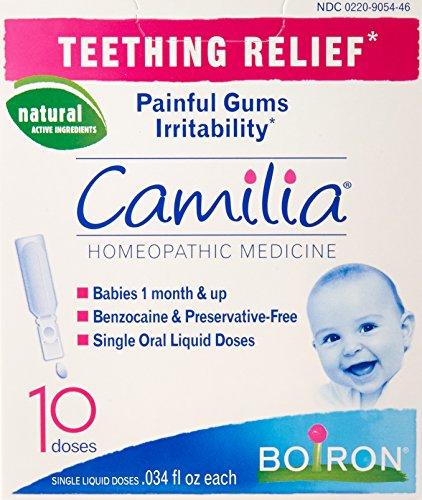Camilia Teething Relief 10 Dose (Teething Boiron Camilia)