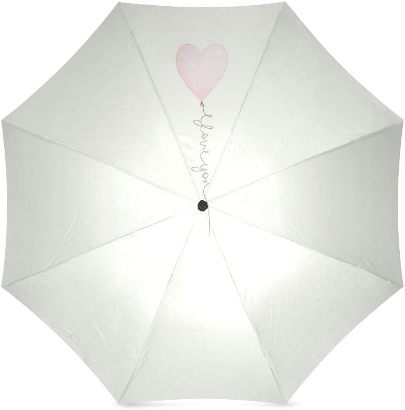 Beautytool Custom Love Balloon Floding Travel Umbrella