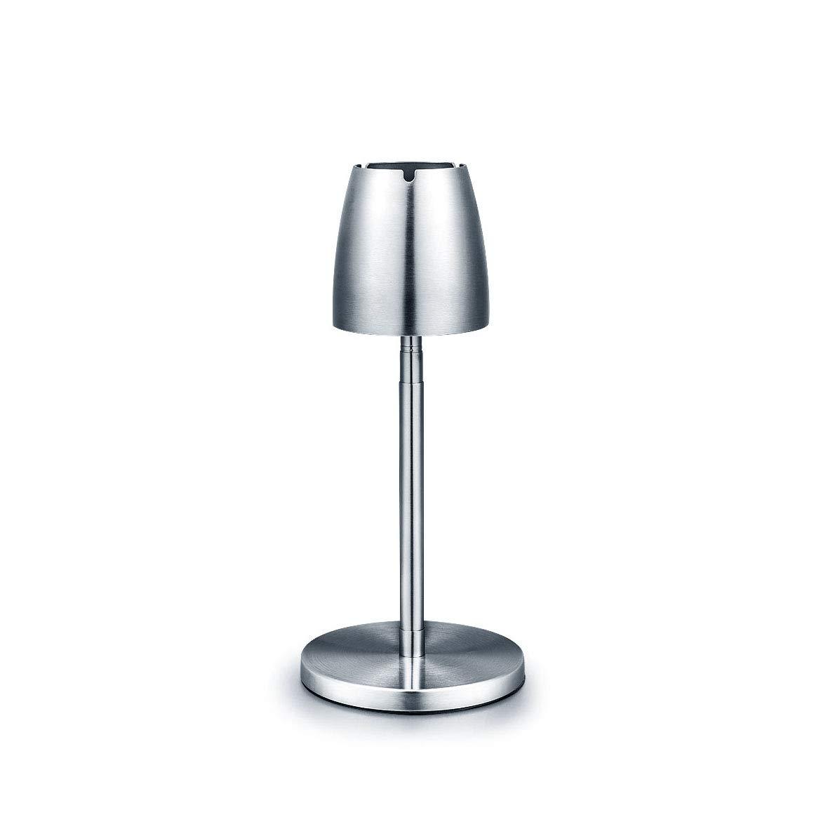 Cendrier en Acier Inoxydable Haut Étage Rétractable en Métal Smog Salon Table Basse Décoration De La Maison