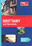 Signpost Guide Brittany and Normandy, Christopher Rice and Melanie Rice, 0762706805